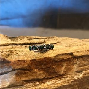 Old Pawn Sterling Silver & Turquoise Ring